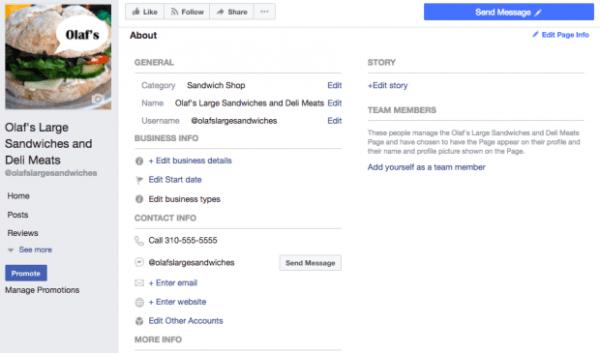 Cách tạo Fanpage trên Facebook - hoàn thành phần giới thiệu