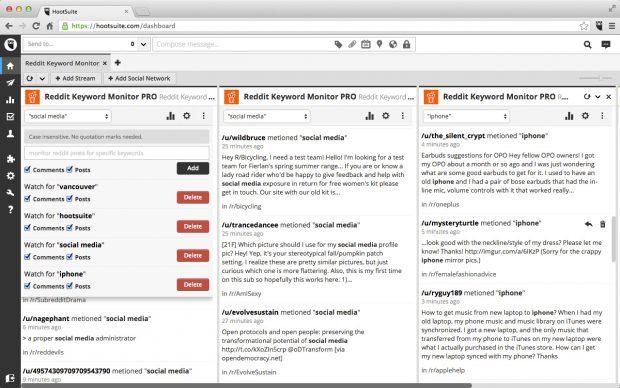 Reddit Keyword Monitor Pro tool