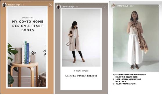 instagram stories templates by Lee Vosburgh