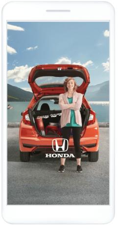 Annuncio di Facebook Facebook di Honda