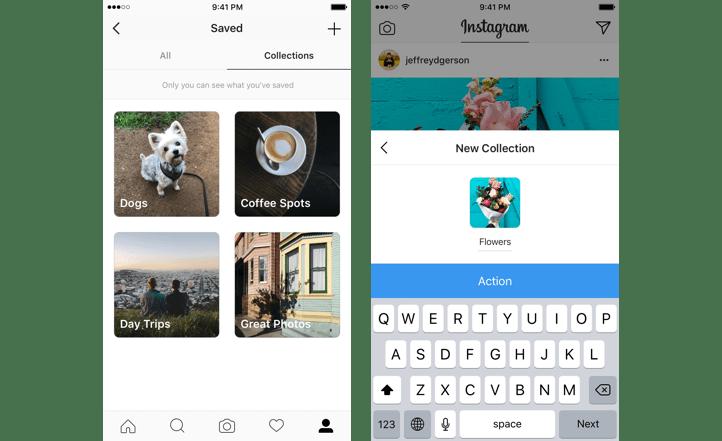 organize Instagram posts