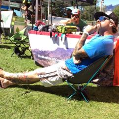 Big Agnes Helinox Chair All Purpose Salon Chairs Reclining White The Dyrt On Pacific Crest Trail Pct Days Rob From Rocking Out One Mini