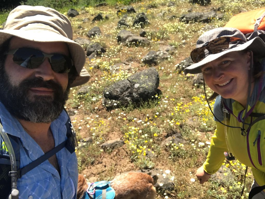 Hikers await supplies