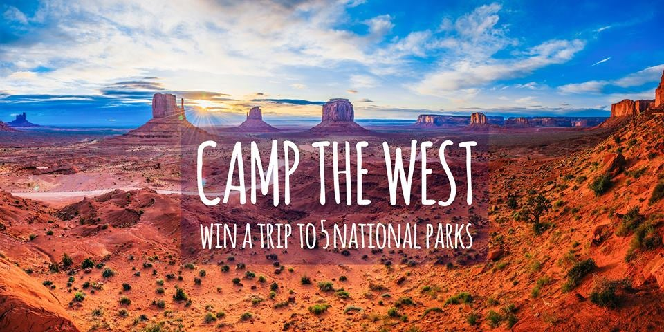Camp the West Utah sweepstakes