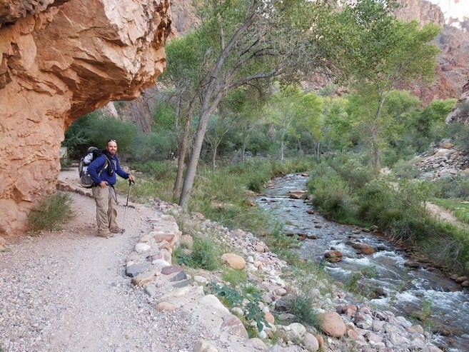 grand canyon river permits: bright angel campground