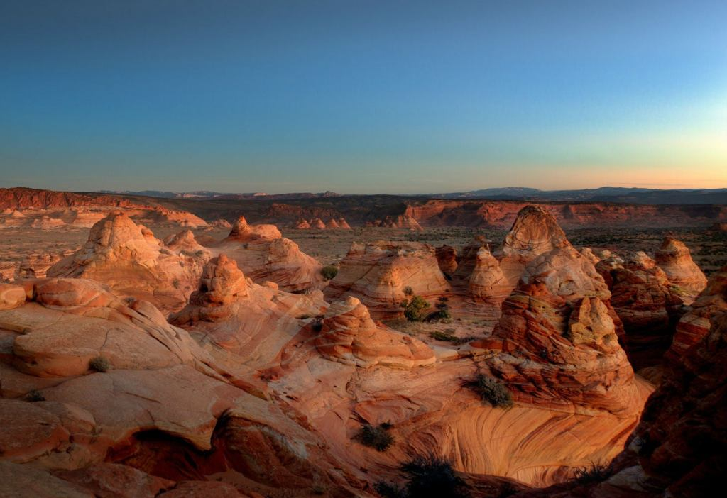 Get your Coyote Buttes permit if you want to soak in this serene view.