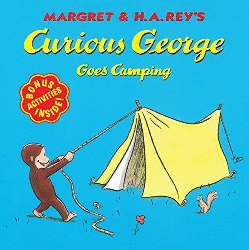 This Curious George story is a classic for camping books.