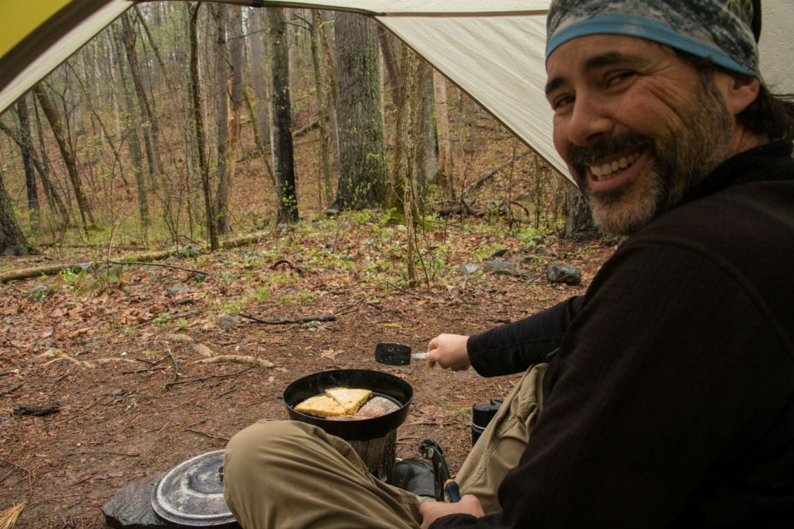 camp cooking in shenandoah national park