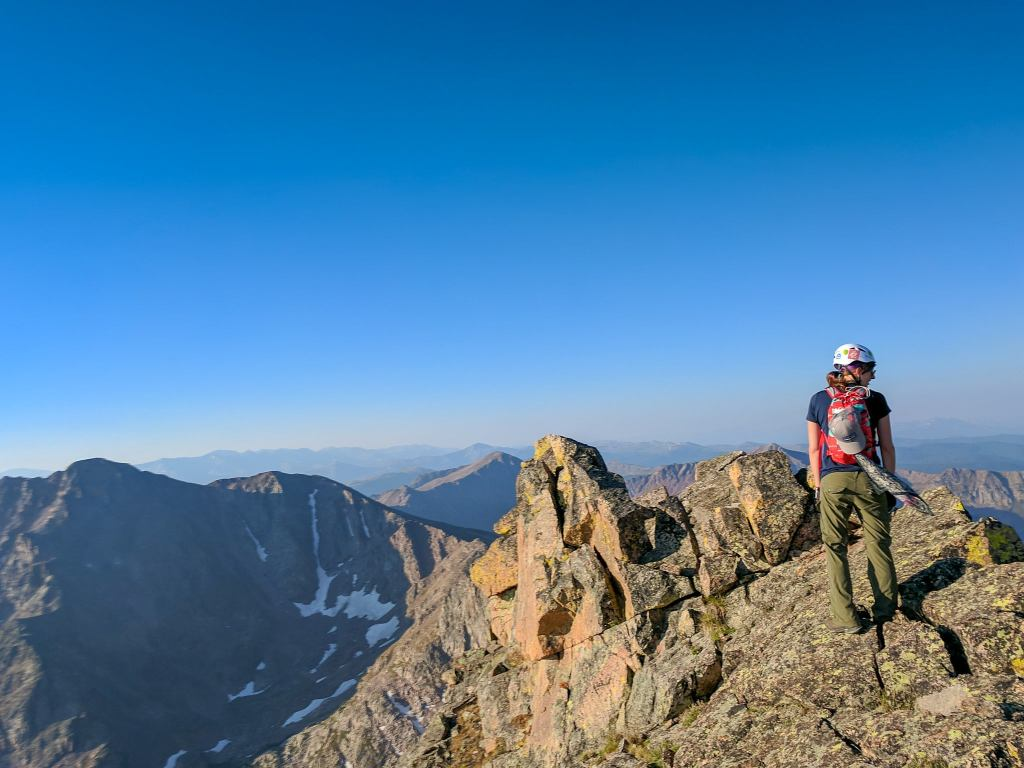 hiking the summit thanks to backpacking tips