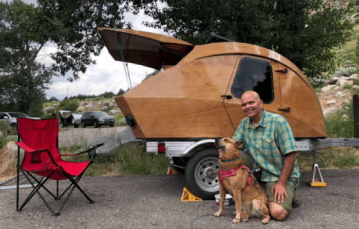 What it's Really Like to Build Your Own Teardrop Camper Trailer