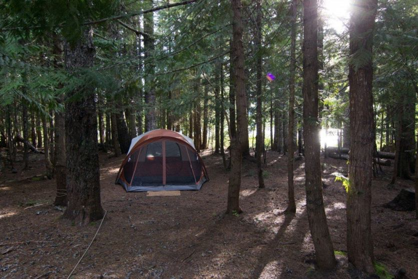 trillium lake campground near portland