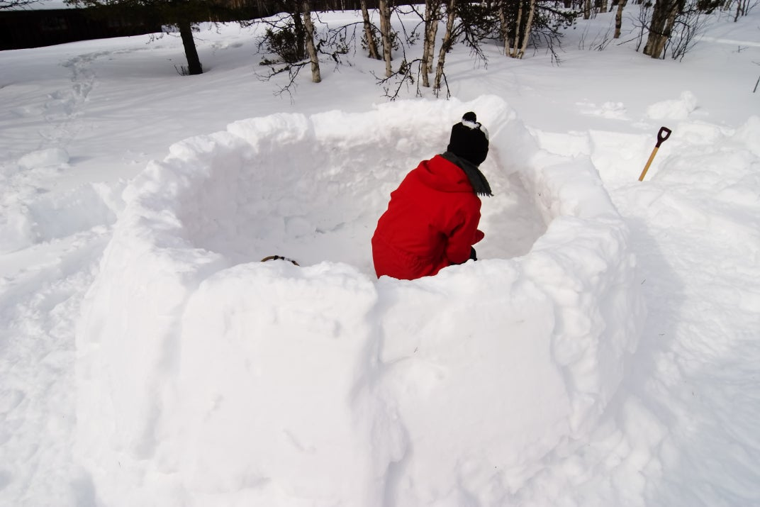 1ab7fd5a8 How to Make an Igloo for Cozy Camping this Winter