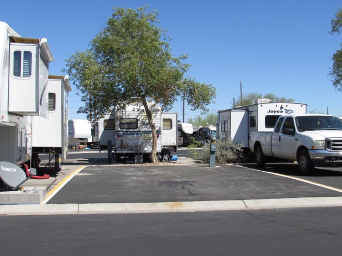 las vegas rv parks, duck creek