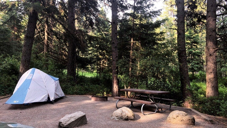 This Year's Top 20 Campgrounds in Idaho, According to Campers