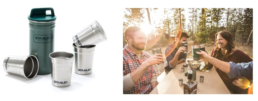Stanley Stainless Steel Shot Glass Set — The Dyrt's Top Gifts Under $50