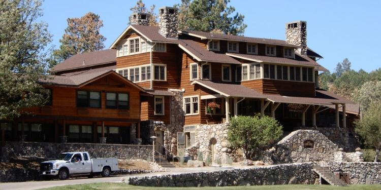 the state game lodge, a popular custer state park lodging option