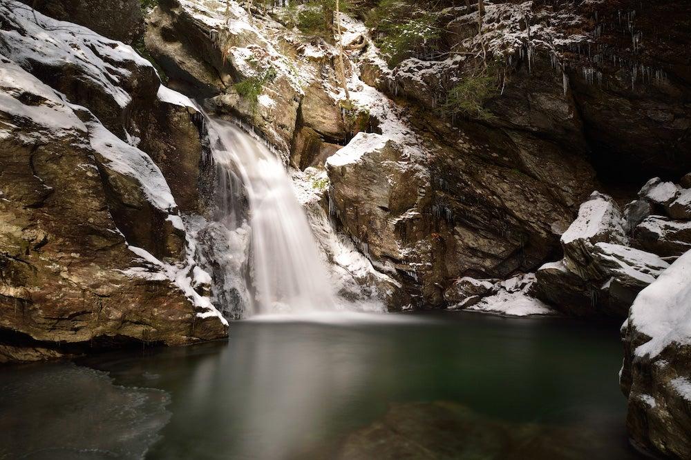 bingham waterfalls in vermont
