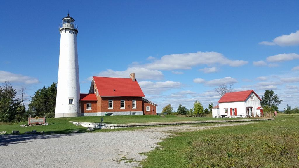 8 Lighthouses That Will Guide Your Coastal Michigan Camping Trip