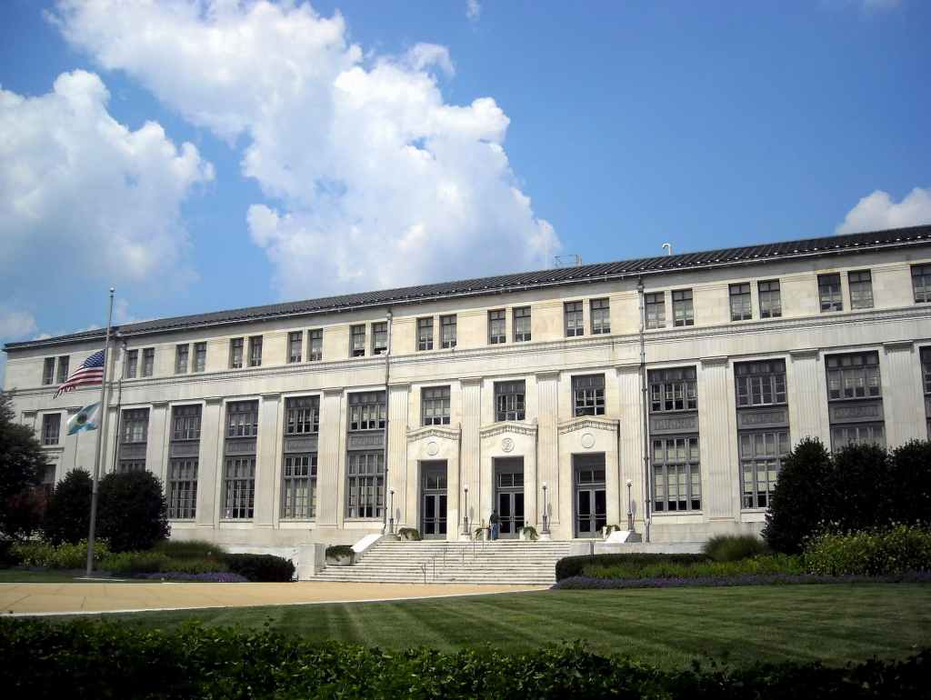 The Department of Interior offices in Washington, D.C.