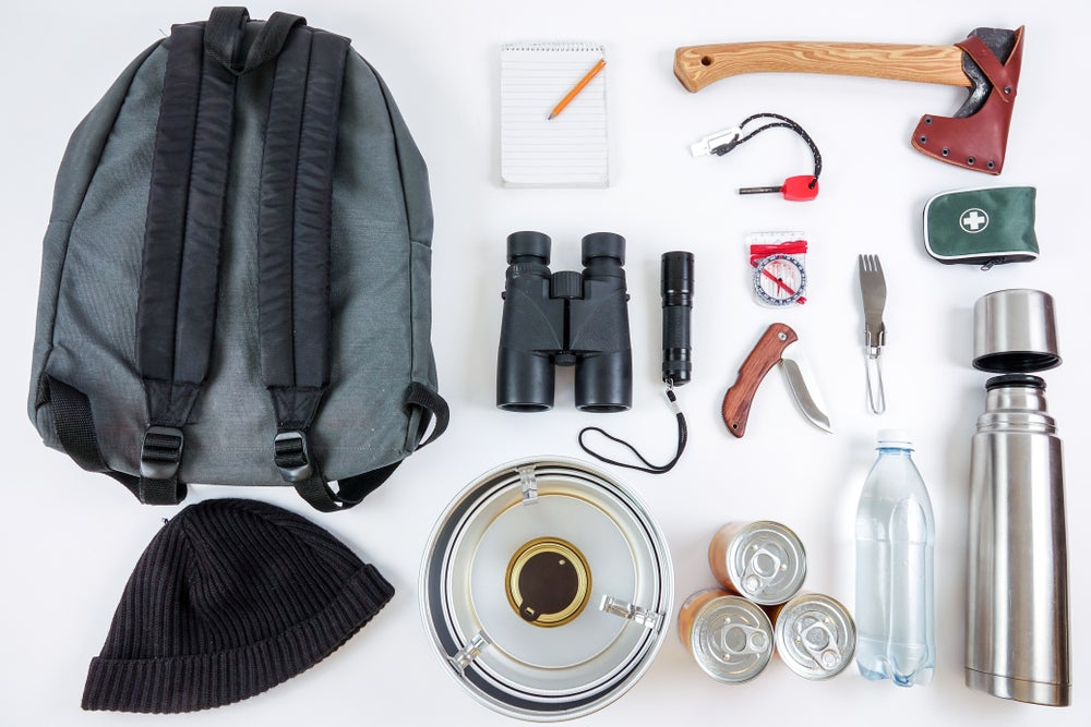 Array of items for an emergency