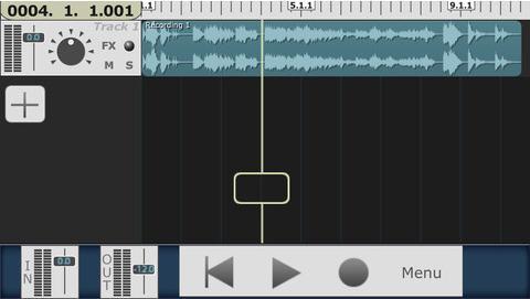 enregisteur multi-piste pour iPhone