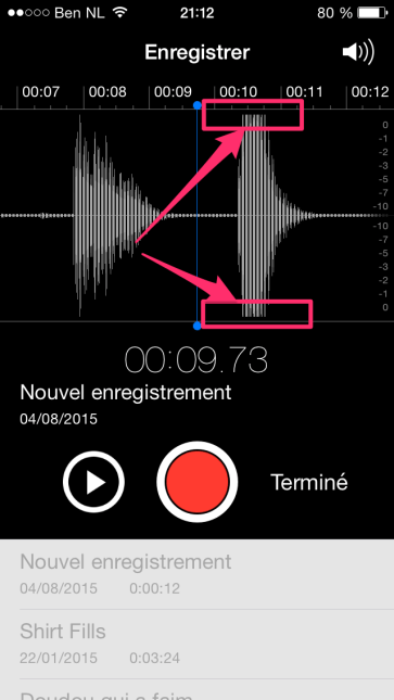 saturation d'enregistrement batterie acoustique