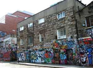 Le studio d'enregistrement du morceau Sunday Bloody Sunday