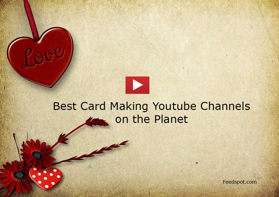Top 100 Card Making Youtube Channels For Card Making