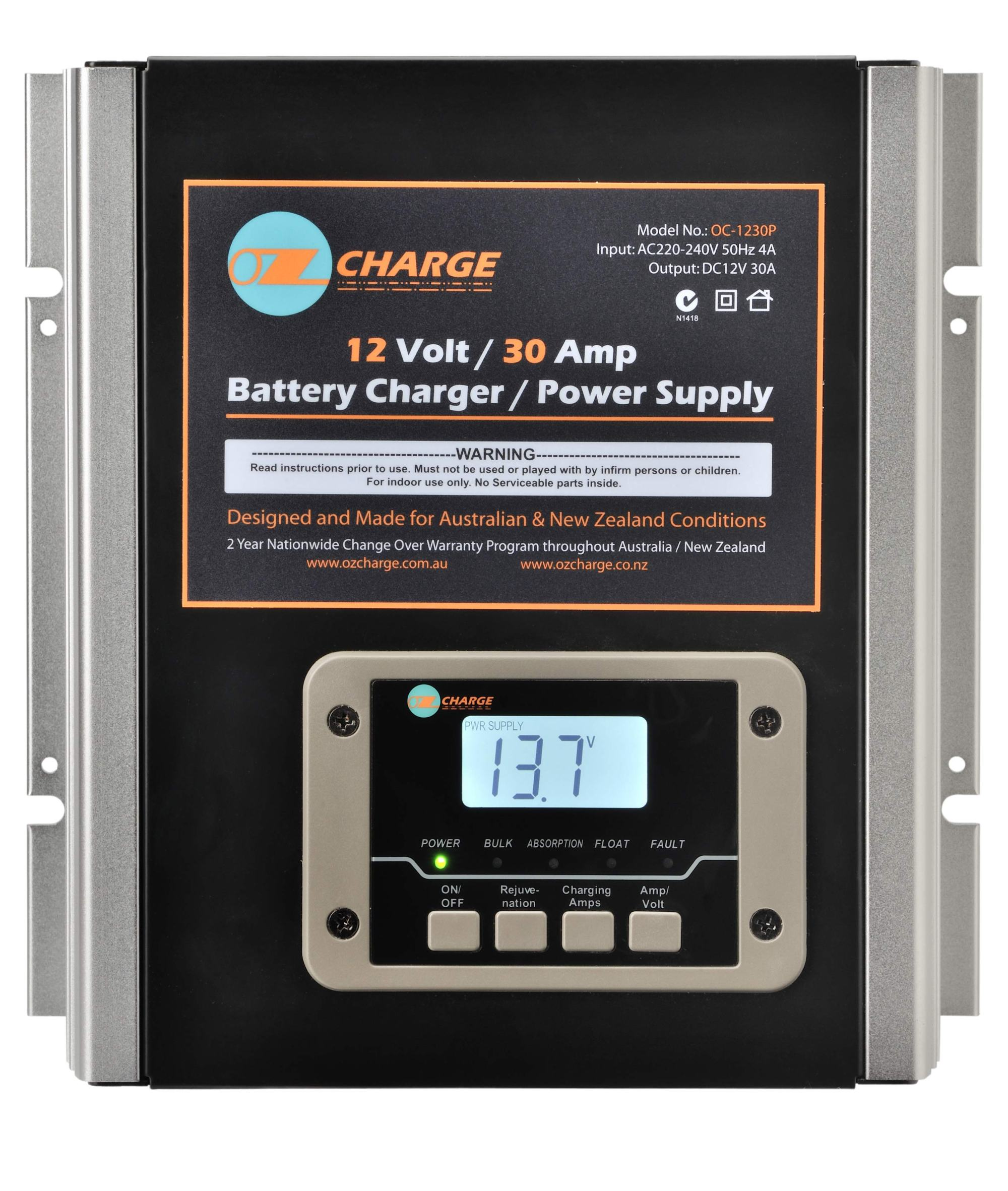 hight resolution of battery charging monitor