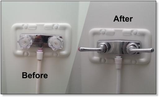 rv bathroom sink rv bathroom faucet