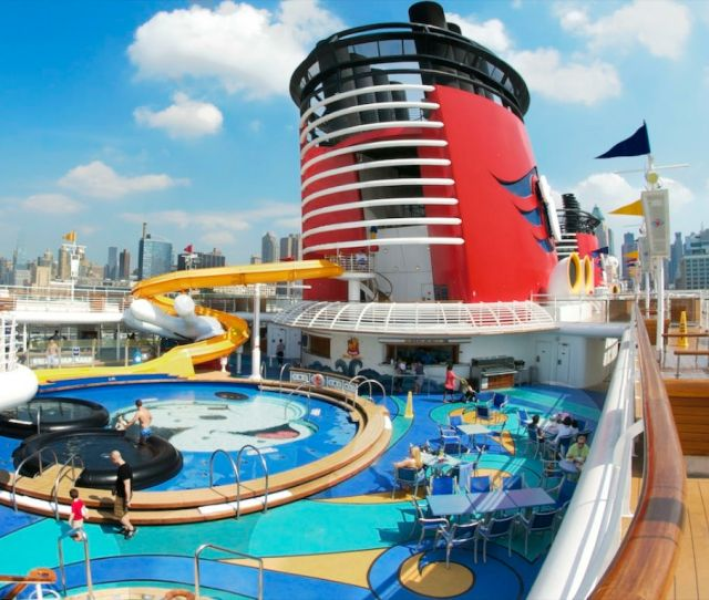 Dcl Pool Deck Photo