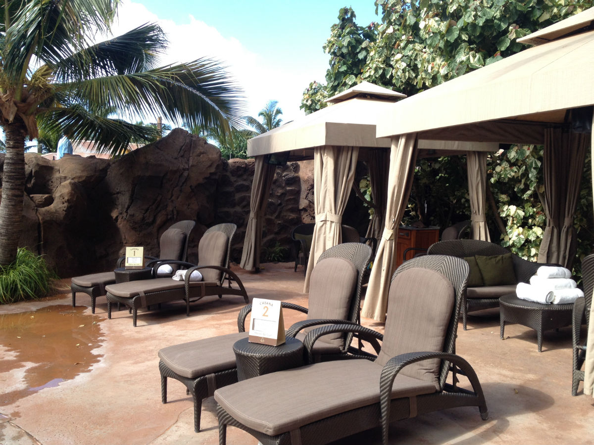 Cabanas Casabellas and More at Disneys Aulani