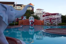 Clown Slide Boardwalk Inn Disney