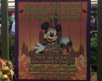 Tickets Now On Sale for 2018 Mickey's Not-So-Scary ...