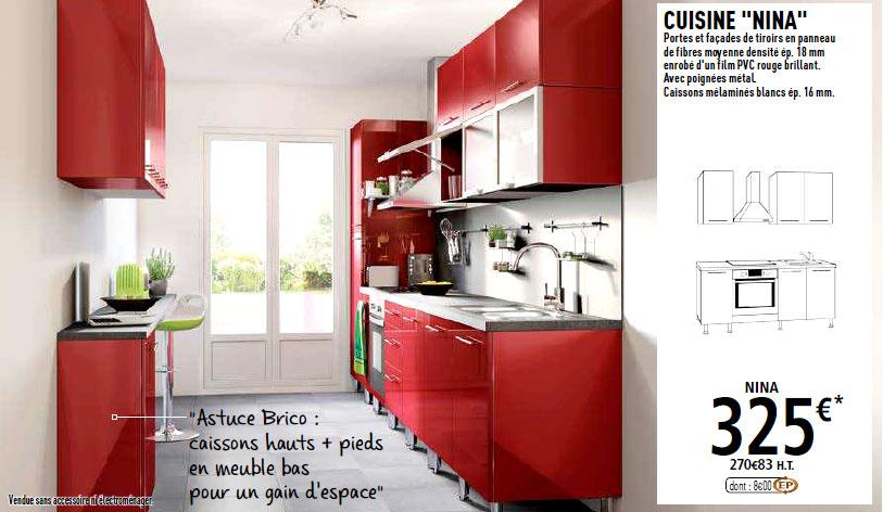 meuble cuisine colonne pour four encastrable