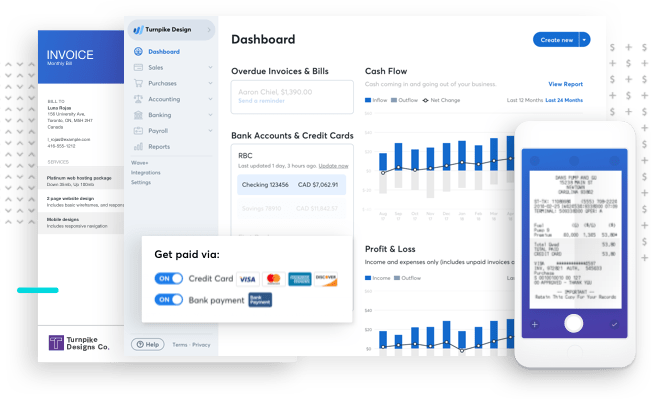 CoverWallet Review - free business tools for small businesses Wave