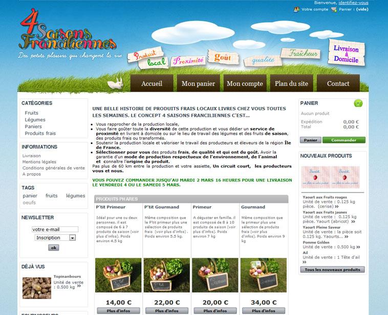 Un exemple de site de e commerce r ussi blog de geekette for Idee e commerce rentable