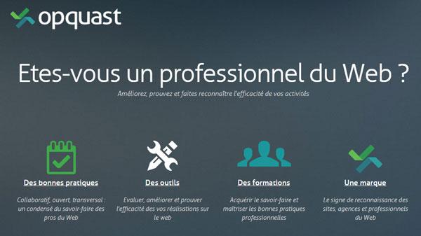 opquast - qualité web - qualite web