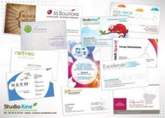 Cartes de visites imprimées - Outils de communication pour entrepreneurs