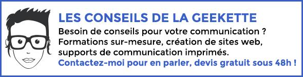 Blog de geekette Rashel Réguigne conseils en communication numérique et imprimée
