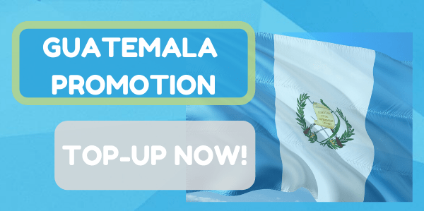 Promotions on! Send money to Guatemala this weekend