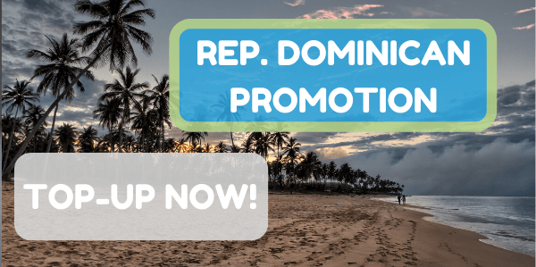 New promotions for Dominican Republic top-ups!