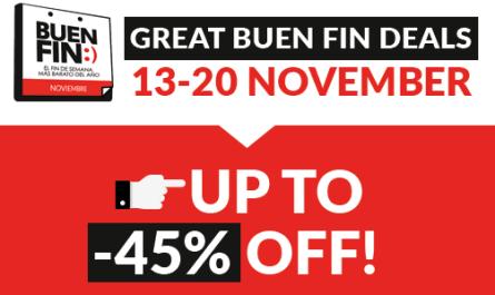 Sales Buen Fin Mexico