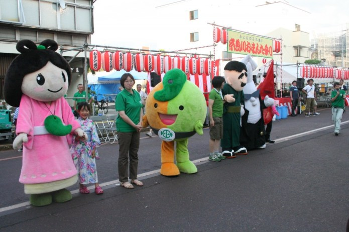 Picture of Itoigawa's Mascots