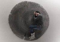 Tapis en bois par Floor to Heaven - Blog Esprit Design