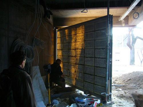 Dedans dehors le bton transparent par Litracon  Blog Esprit Design