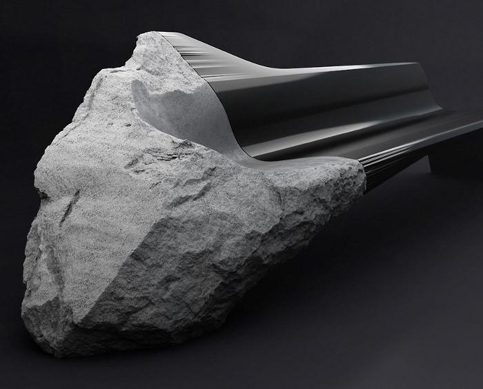 Preview Milan 2014  Sofa Onyx par le Peugeot Design Lab  BED