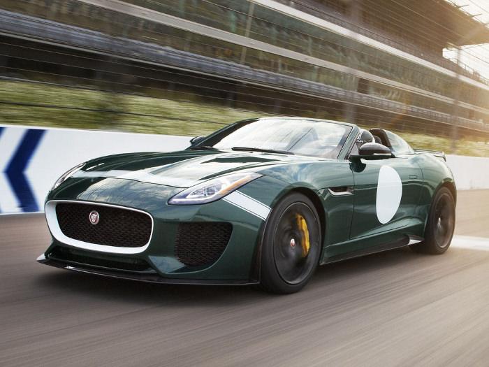 Cure De Jouvence La Nouvelle Jaguar F Type Project 7 BED