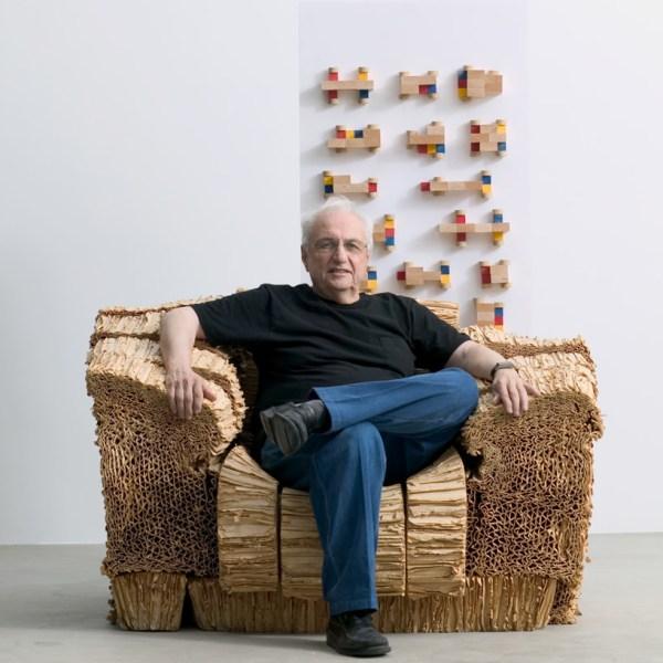 Histoire De Design Wiggle Side Chair Par Frank Gehry 1972 - Esprit