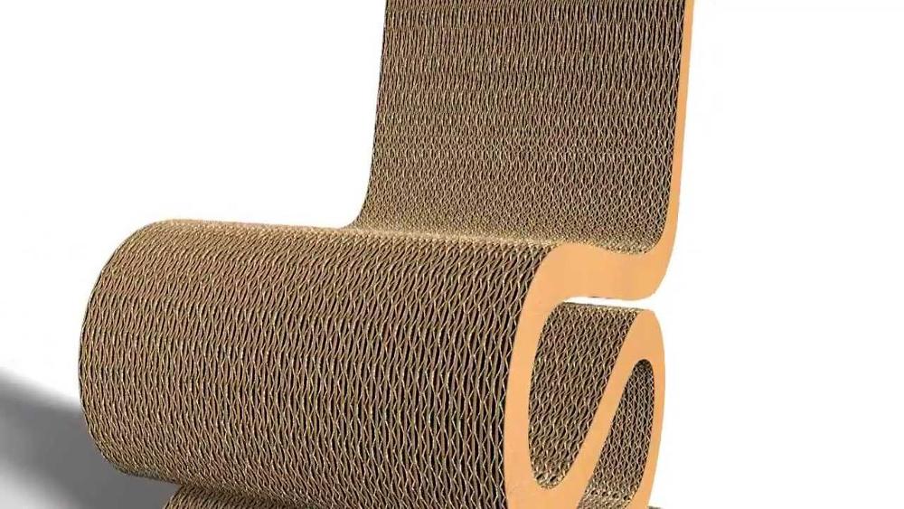 Histoire de Design  The Wiggle Side Chair par Frank Gehry